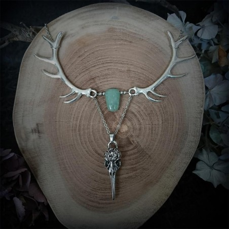 collier perle crane
