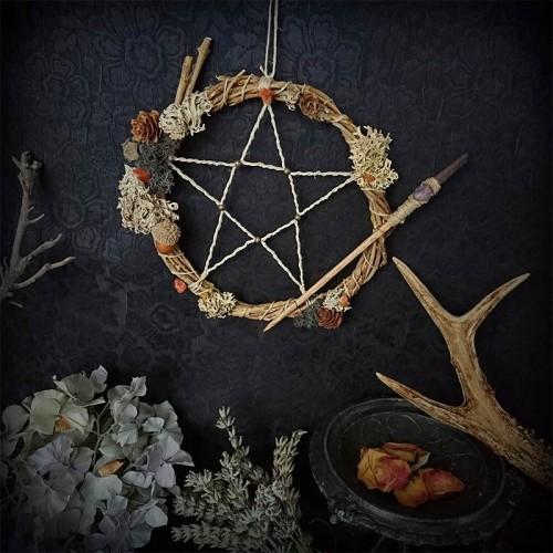 Capteur de rêve (pentagram)...