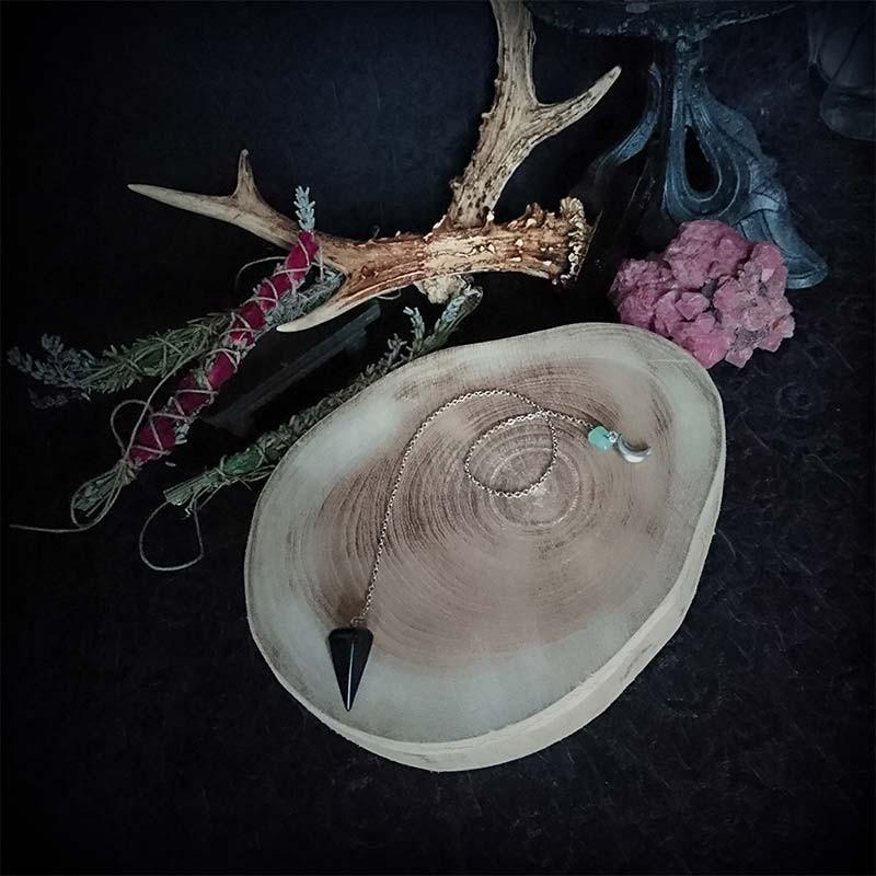 pendule divinatoire pour voyance en pierre naturelle Onyx