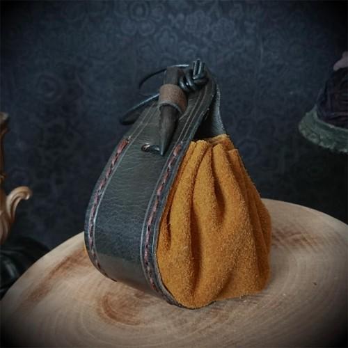 Bourse cuir artisanal...