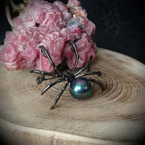 Broche gothique araignée...