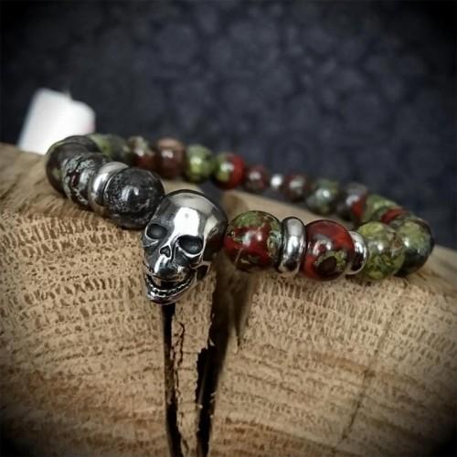 Bracelet perles 8mm en...