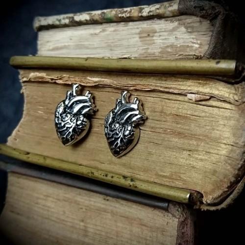 Boucles d'oreilles coeur...