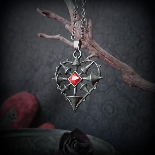 Collier pendentif Coeur...