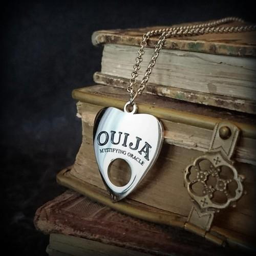 Collier Ouija en acier,...