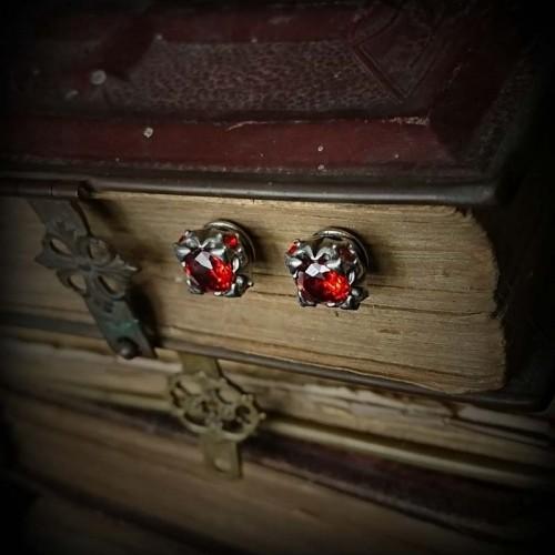 Boucles d'oreilles baroque...