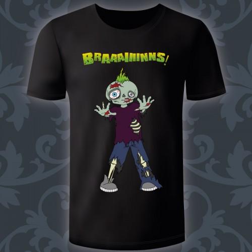T-shirt Homme Zombie de...
