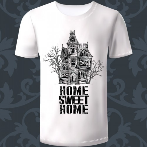 "T-shirt Homme ""Home Sweet..."