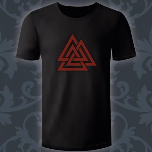 T-shirt Homme valknut,...