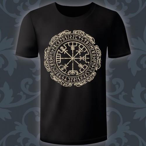 T-shirt Homme vegvisir,...