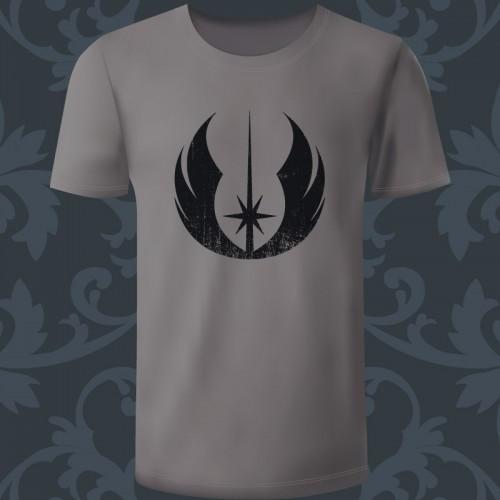 T-shirt Homme gris logo...
