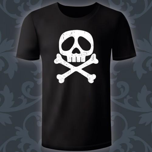 T-shirt Homme Tête de mort...
