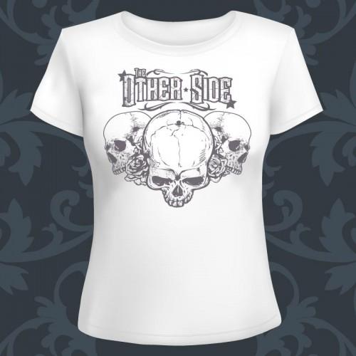 T-shirt Femme blanc The...
