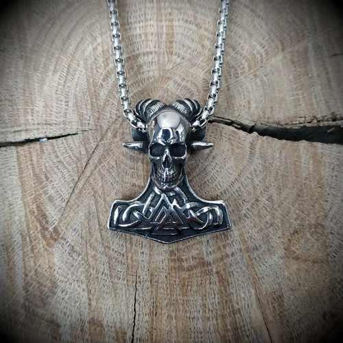 Collier pendentif viking...