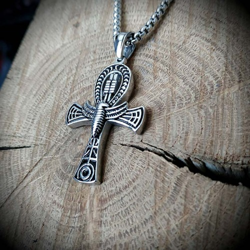 Collier pendentif ankh...
