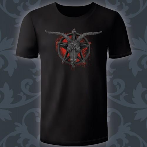 T-shirt Homme Baphomet blood