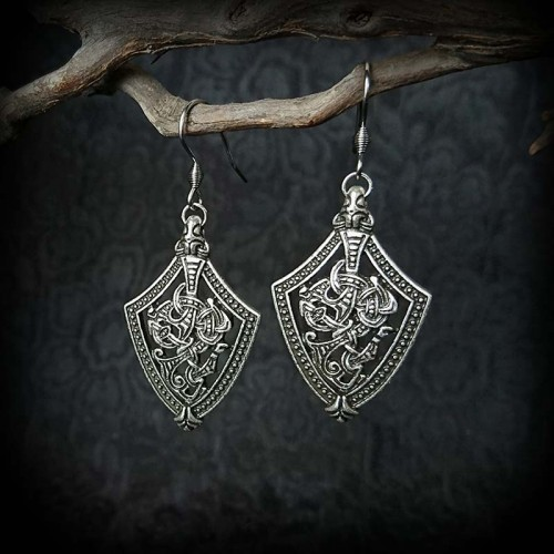 Boucles blason viking