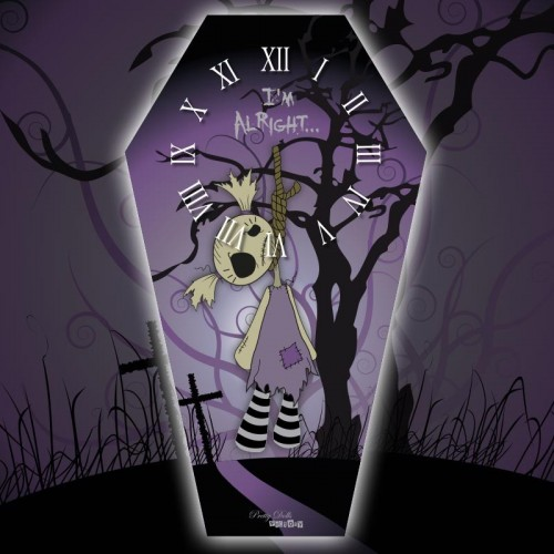 Horloge Cercueil Ragdoll