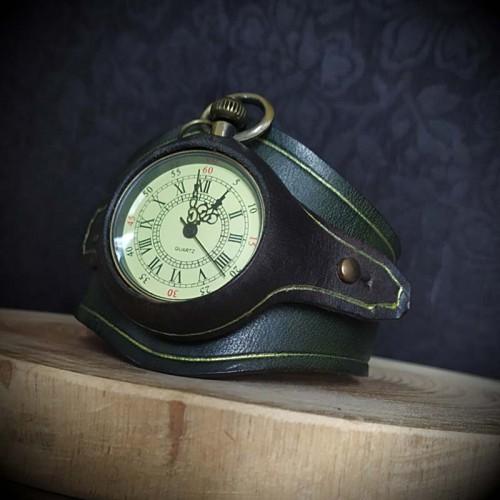 Bracelet en cuir artisanal...