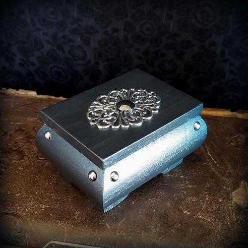 Coffret à bijoux gothique,...