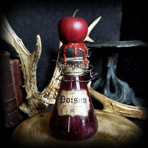 Fiole de poison artisanale,...