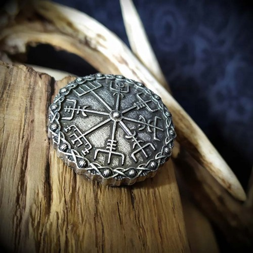 Broche viking Vegvisir 3,4...