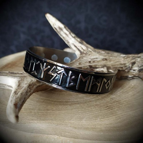Bracelet viking acier...