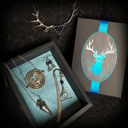 Coffret Patronus, Harry...