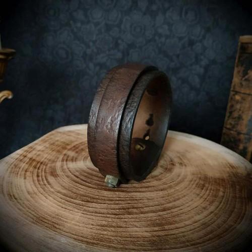 Bracelet cuir artisanal...