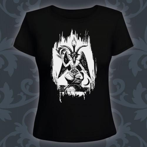 T-shirt Femme Baphomet classic