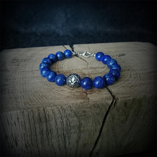 Bracelet perles Lapis...