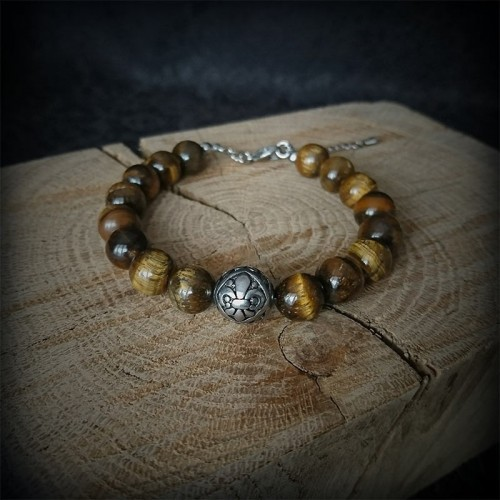 Bracelet perles oeil de...