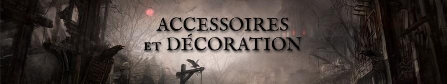Accessoires & Décorations de style gothique, steampunk, dark, rock...